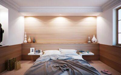 Sypialnia bez oświetlenia sufitowego? Poznaj ciekawe i funkcjonalnie alternatywy!